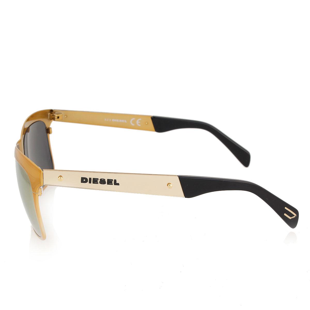Diesel unisex occhiali da sole con lenti a specchio spence outlet - Occhiali con lenti a specchio colorate ...