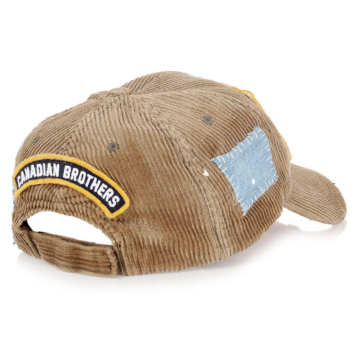dsquared2 corduroy baseball cap hat spence outlet