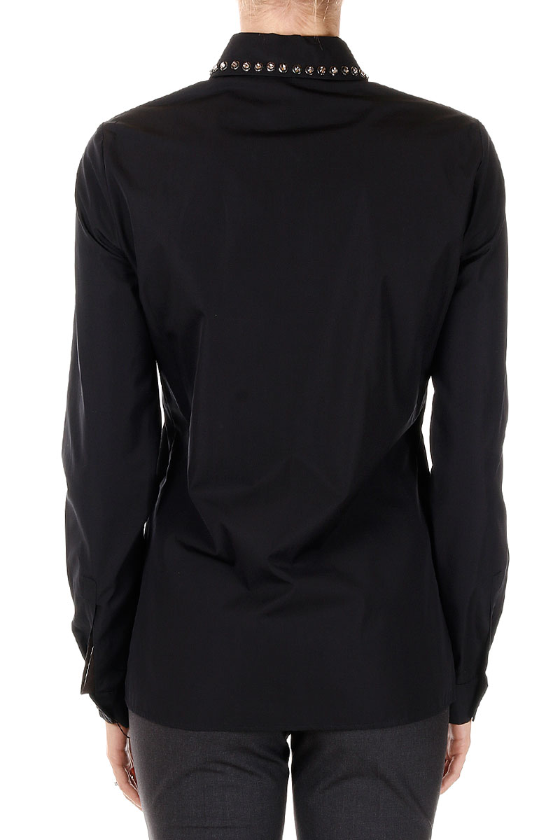 Gucci new women cotton shirt long sleeve detachable collar for Shirts made in italy