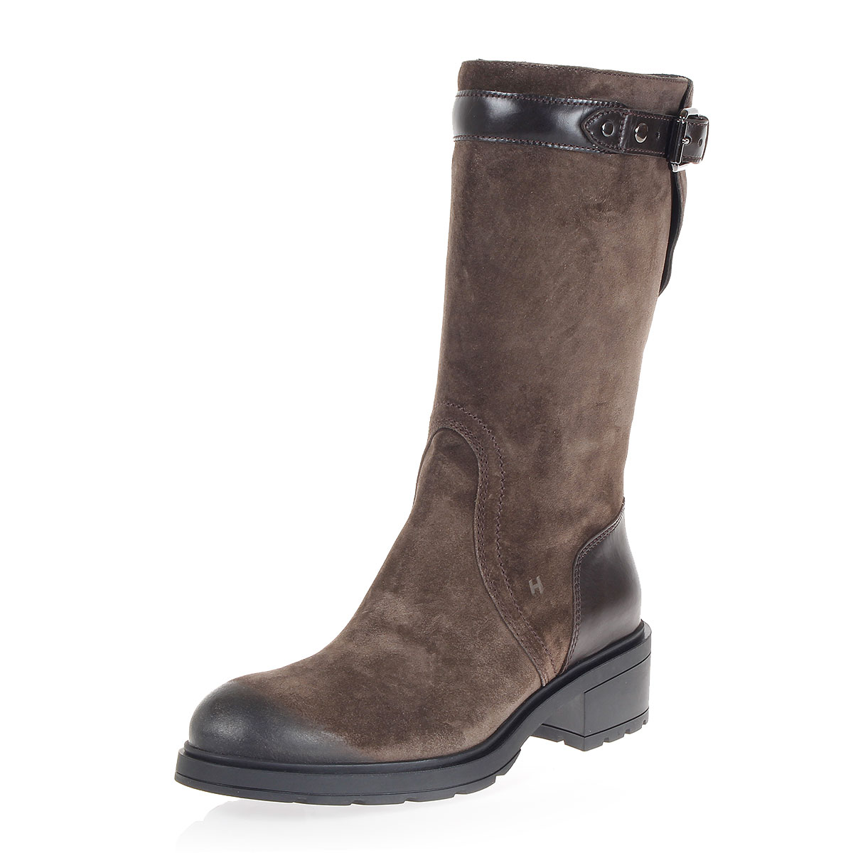 suede boots with buckle spence outlet