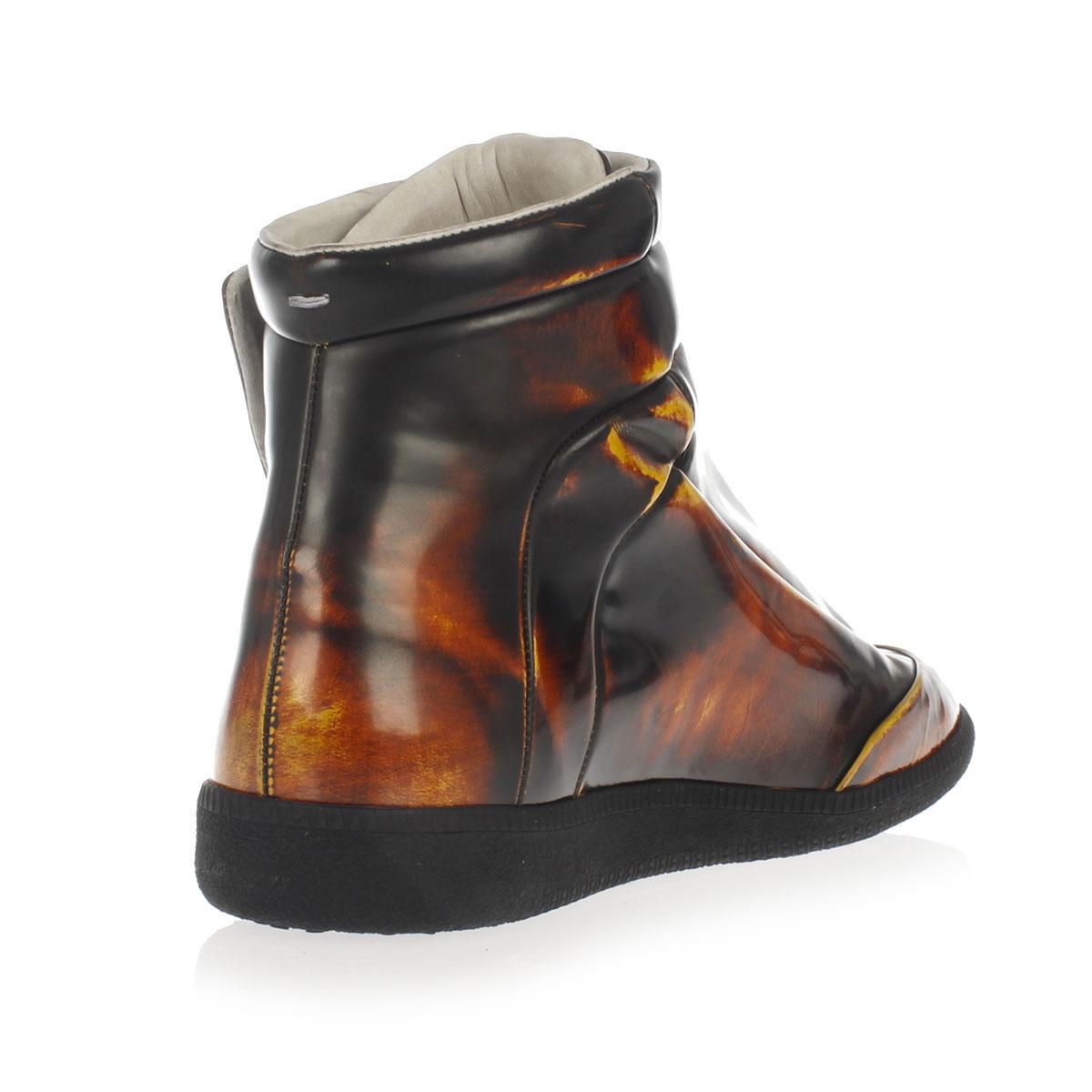 Martin margiela mm22 nuovo uomo rosso marrone scarpe da for Ma maison scarpe