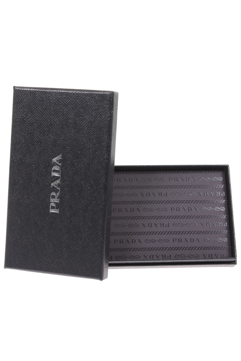 Prada Uomo Porta carte di credito in pelle - Spence Outlet