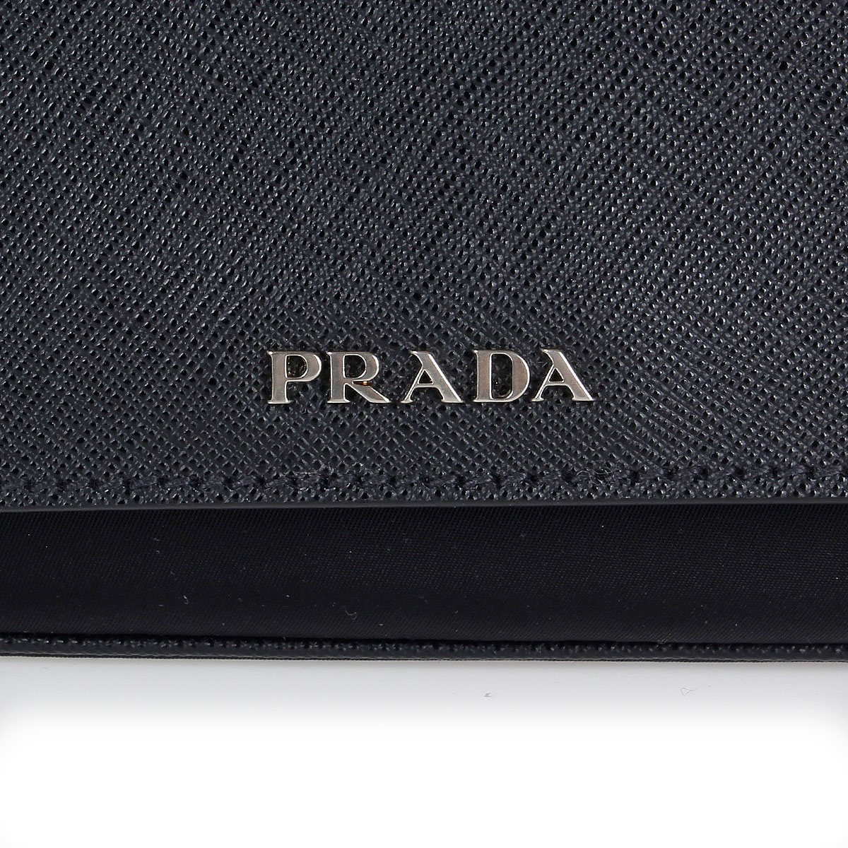 Prada Donna Borsa in pelle e tessuto - Spence Outlet