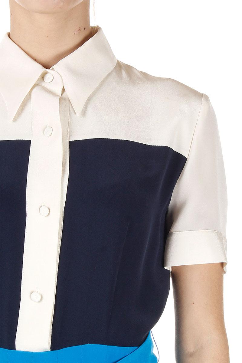 Prada Women Silk Cr¨ºpe Dress with Belt - Spence Outlet