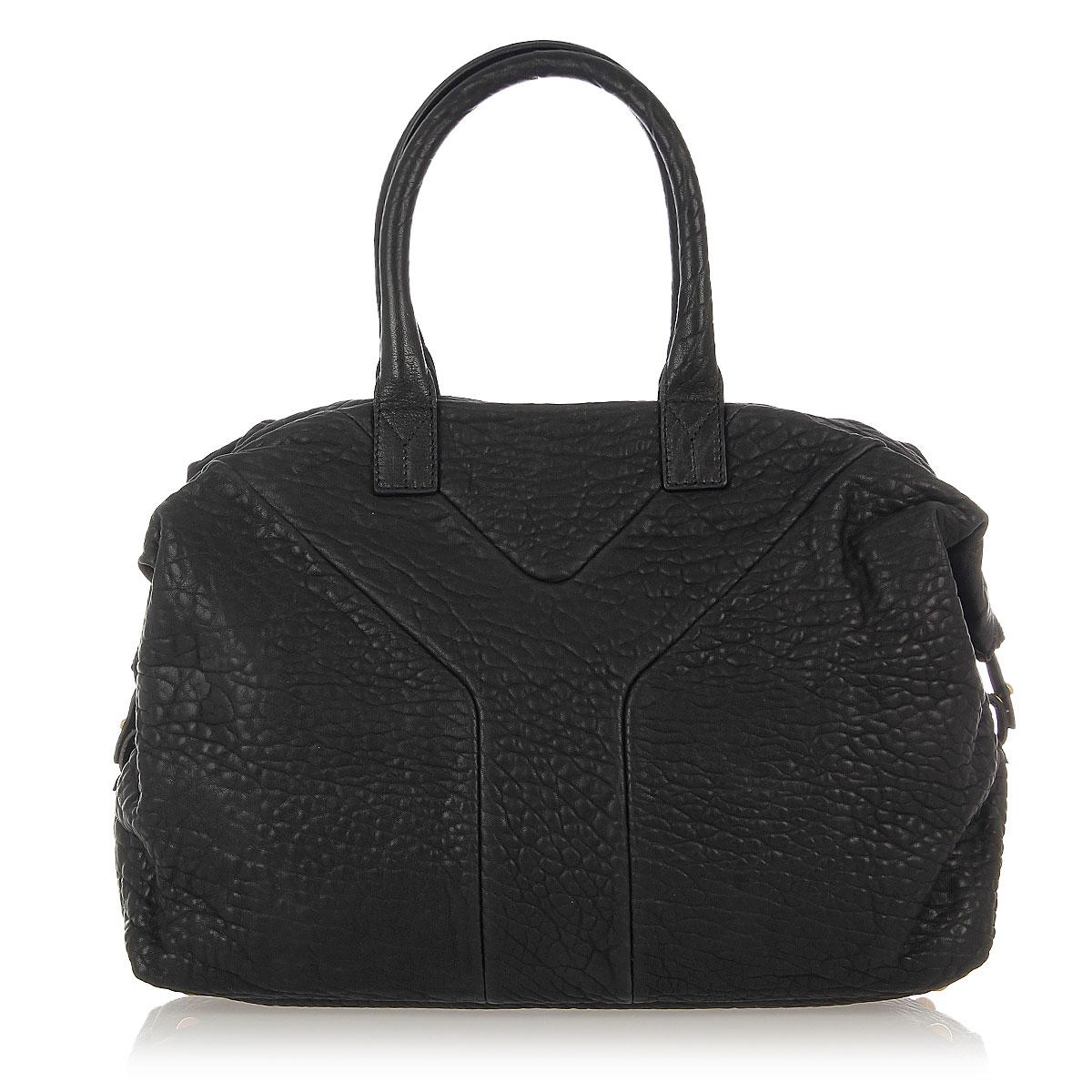 yves saint laurent leather sac easy bag