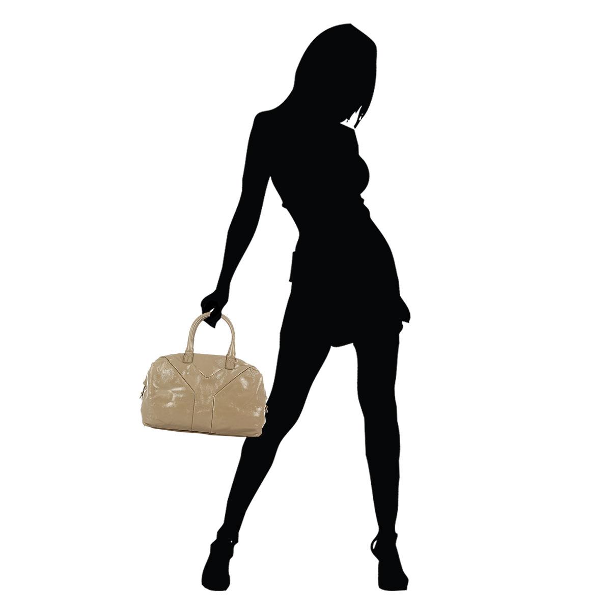 huge handbags - Yves Saint Laurent Women Brushed Leather SAC EASY Bag - Spence Outlet